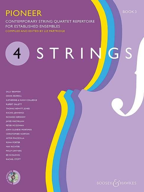 4 Strings - Pioneer Book 3: String Quartet: Instrumental Tutor