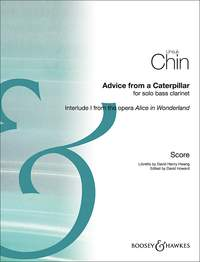 Unsuk Chin: Advice From A Caterpillar: Bass Clarinet: Instrumental Work