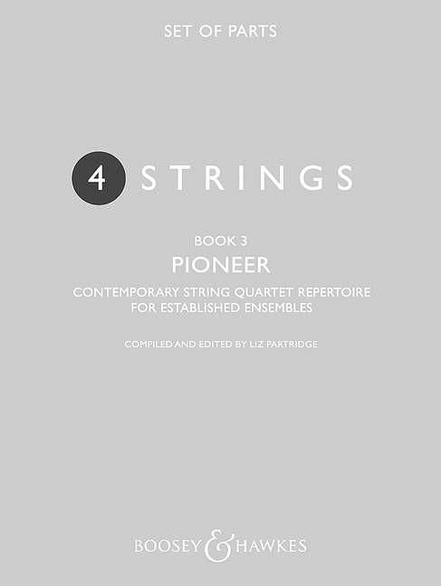4 Strings - Pioneer Book 3: String Quartet: Parts