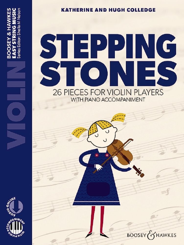 Hugh Colledge Katherine Colledge: Stepping Stones - with Piano Accompaniment: