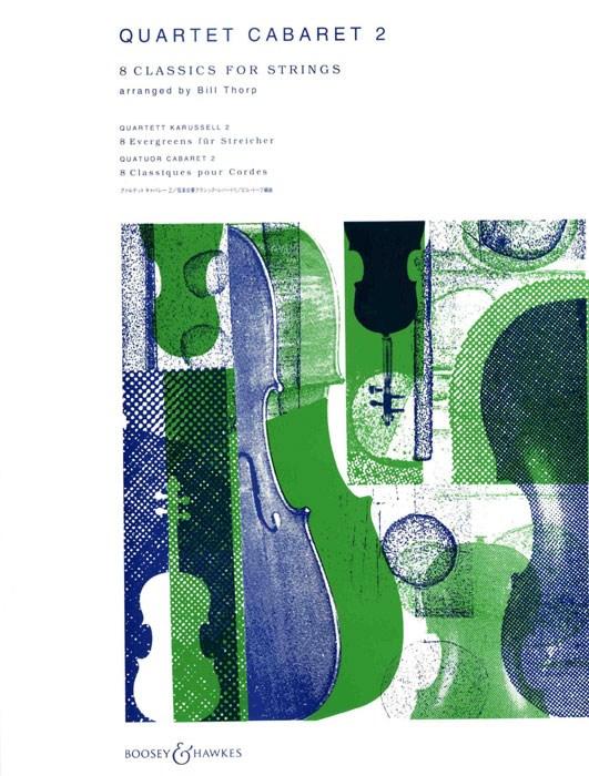 Quartett Cabaret Vol. 2: String Quartet: Parts