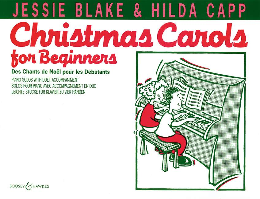 Jessie Blake: Christmas Carols for Beginners: Piano Duet: Instrumental Album