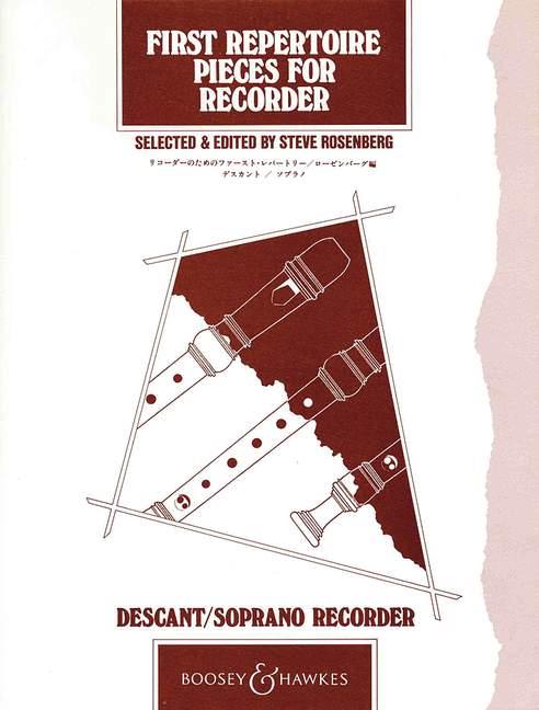 First Repertoire Pieces: Descant Recorder: Instrumental Album