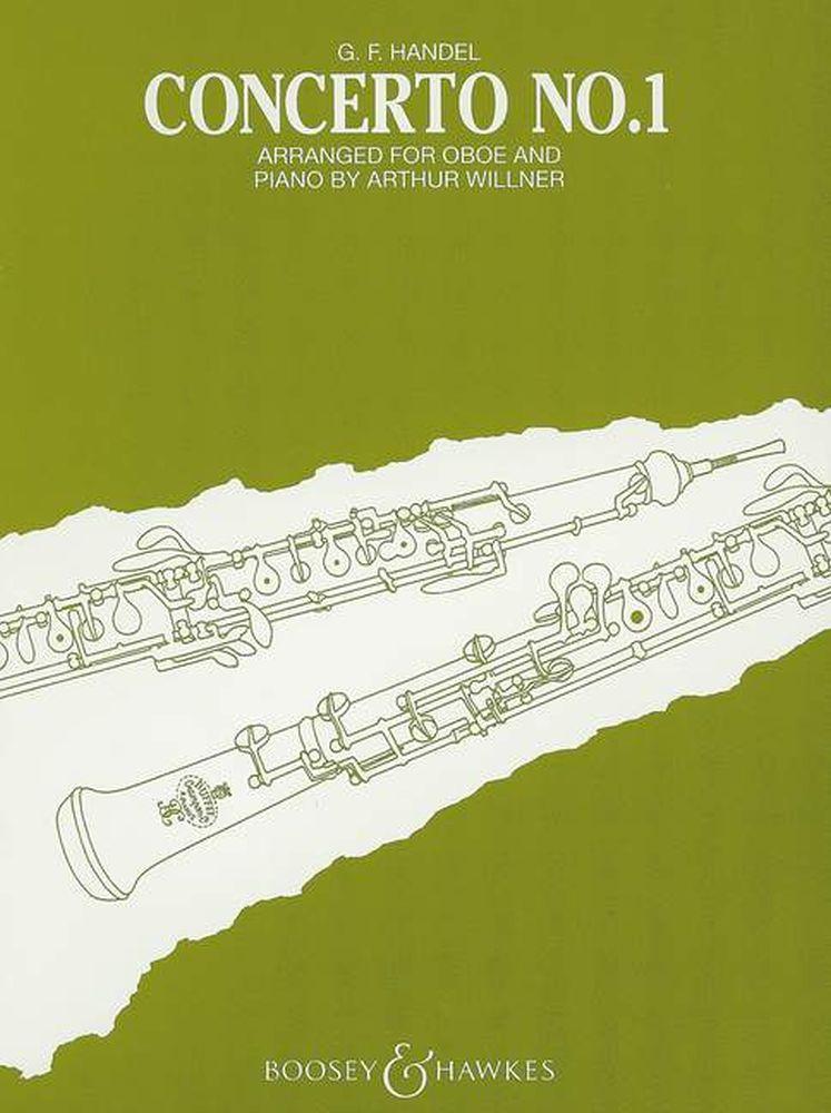 Georg Friedrich Händel: Oboe Concerto No.1 In B Flat: Oboe: Instrumental Work