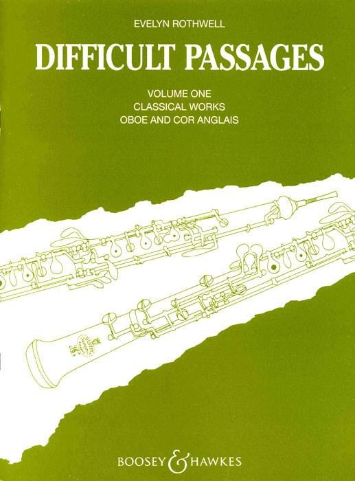 Difficult Passages Vol. 1: Oboe: Instrumental Album
