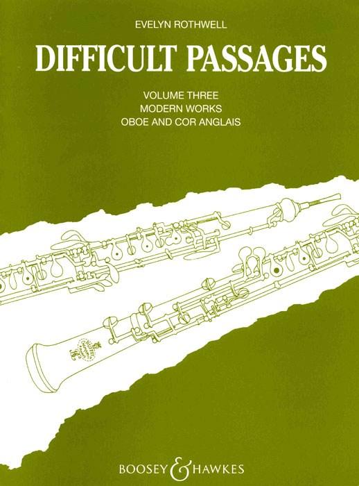Difficult Passages Vol. 3: Oboe: Instrumental Album
