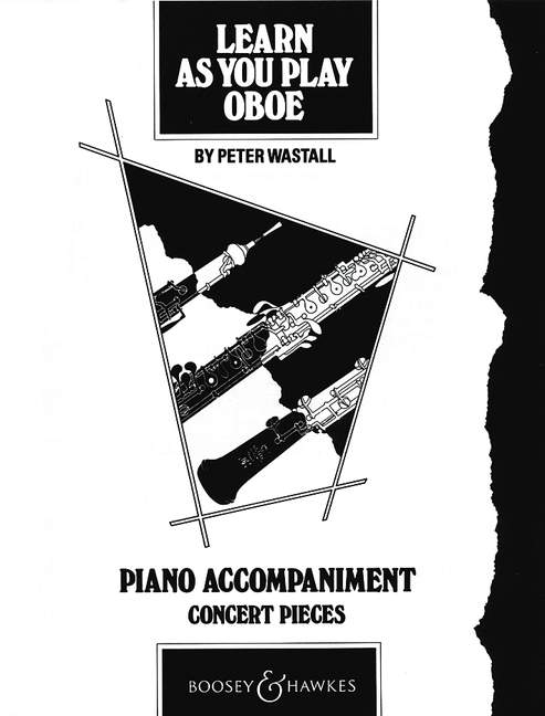 Peter Wastall: Learn As You Play Oboe: Piano Accompaniment: Instrumental Album
