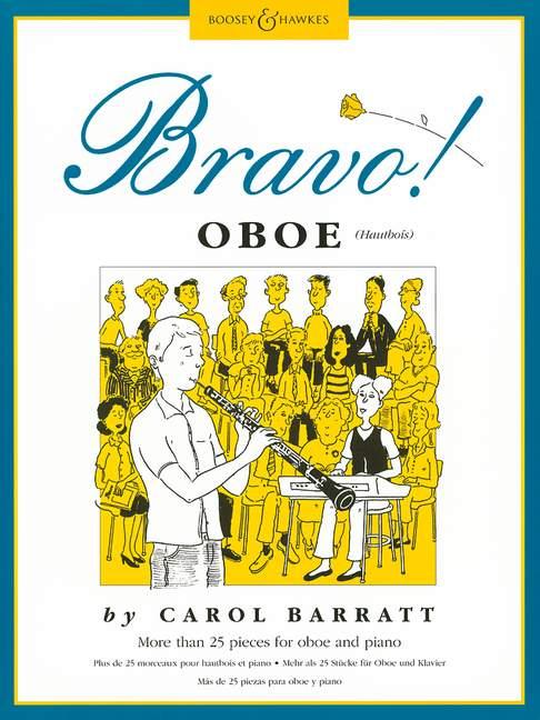 Carol Barratt: Bravo! Oboe: Oboe: Instrumental Album