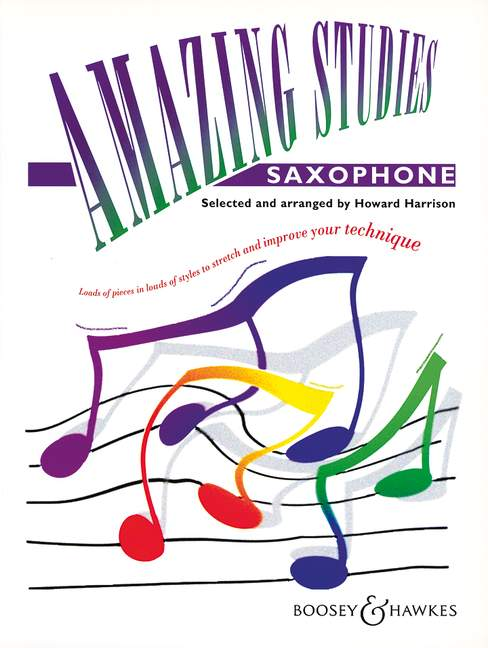 Harrison: Amazing Studies Sax.: Saxophone: Study
