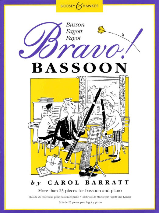C. Barratt: Bravo! Basson (25 Pezzi Per Fagotto E Pf.): Bassoon: Instrumental