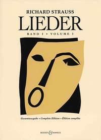 Richard Strauss: Lieder Volume 1: Voice: Vocal Album