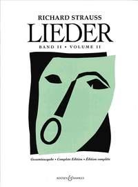 Richard Strauss: Lieder Volume 2: Voice: Vocal Album
