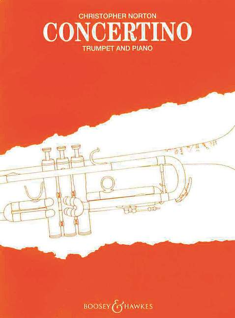 Christopher Norton: Concertino For Trumpet And Piano: Trumpet: Instrumental Work
