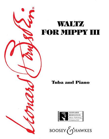 Leonard Bernstein: Waltz For Mippy III: Tuba: Instrumental Work