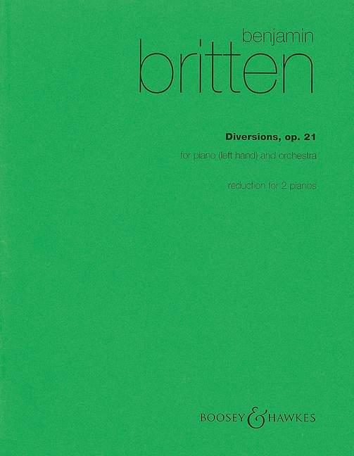 Benjamin Britten: Diversions op. 21: Piano