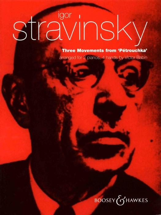 Igor Stravinsky: Drei Stücke: Piano Duet