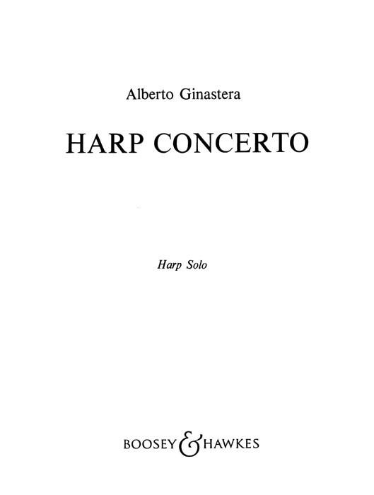 Harfenkonzert op. 25: Harp
