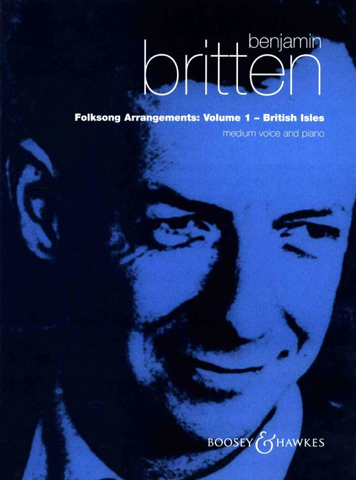 Benjamin Britten: Folksong Arrangements - Volume 1: High Voice: Vocal Album