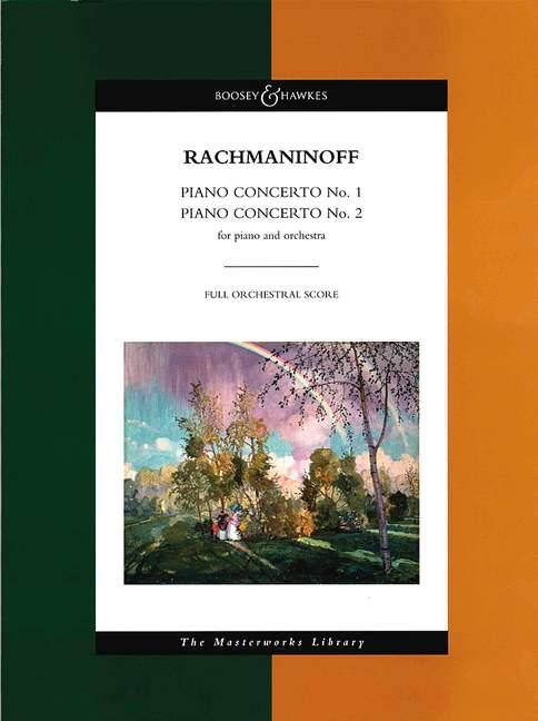 Sergei Rachmaninov: Piano Concertos Nos. 1 And 2: Piano: Score