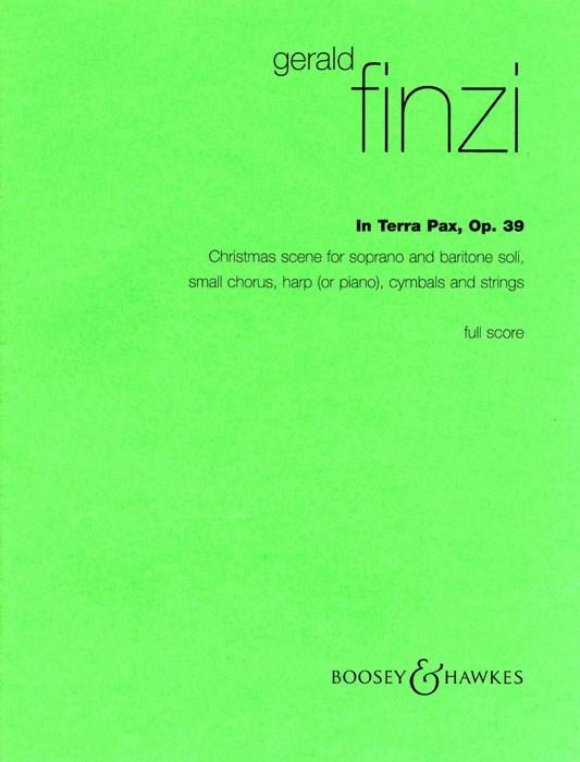 Gerald Finzi: In Terra Pax op. 39: SATB: Vocal Score