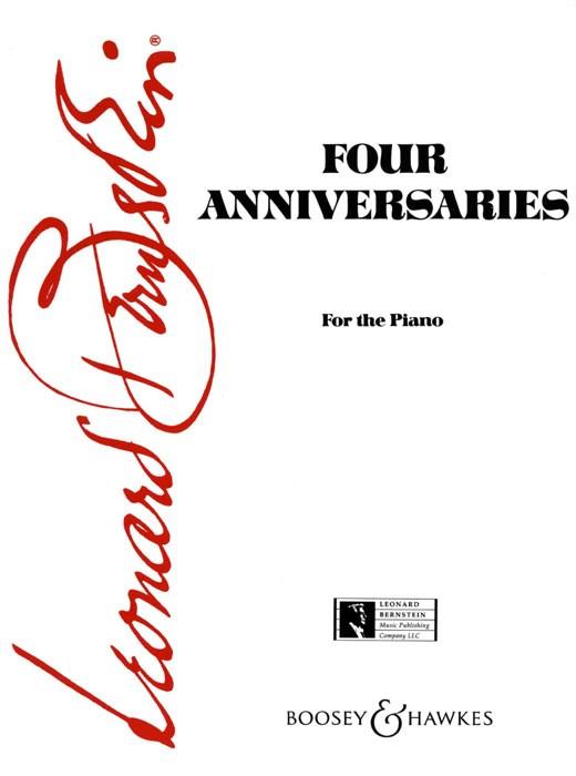 Leonard Bernstein: Four Anniversaries: Piano: Instrumental Work