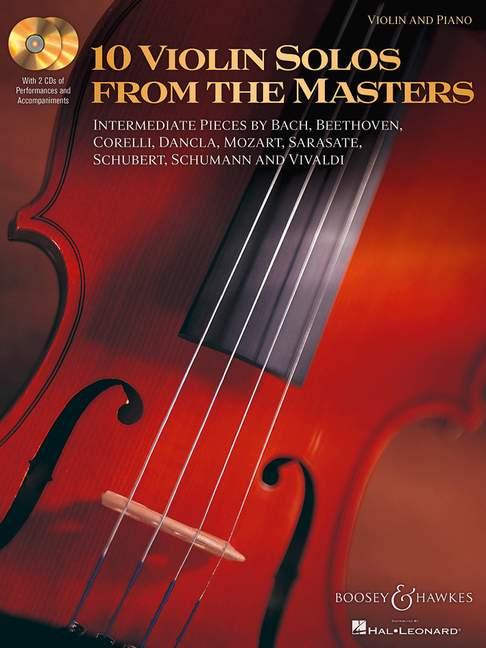 10 Violin Solos from the Masters: Violin: Instrumental Album