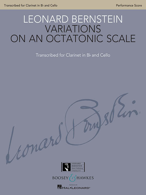 Leonard Bernstein: Variations on an Octatonic Scale: Mixed Duet: Score
