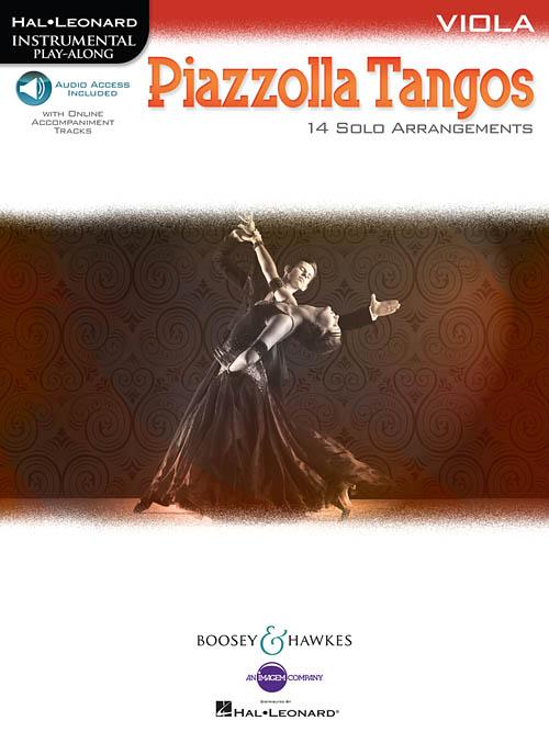 Astor Piazzolla: Piazzolla Tangos: Viola: Instrumental Album