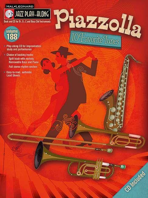 Astor Piazzolla: 10 Favorite Tunes: Any Instrument: Instrumental Album