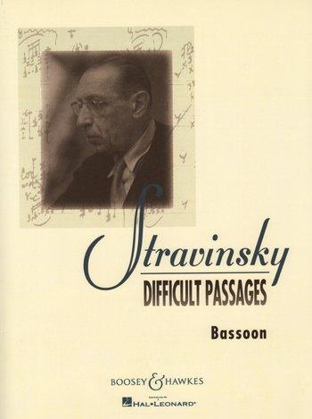 Igor Stravinsky: Difficult Passages: Bassoon