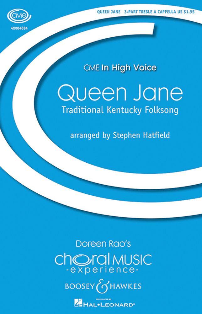 Stephen Hatfield: Queen Jane: Upper Voices