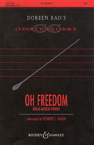 Oh freedom: SATB: Vocal Score