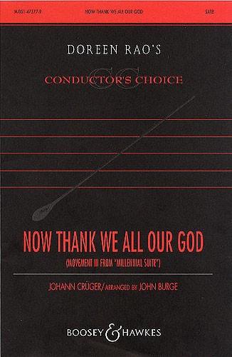 Johann Crüger: Millennial Suite: Hymns throuhg the Ages: SATB: Vocal Score