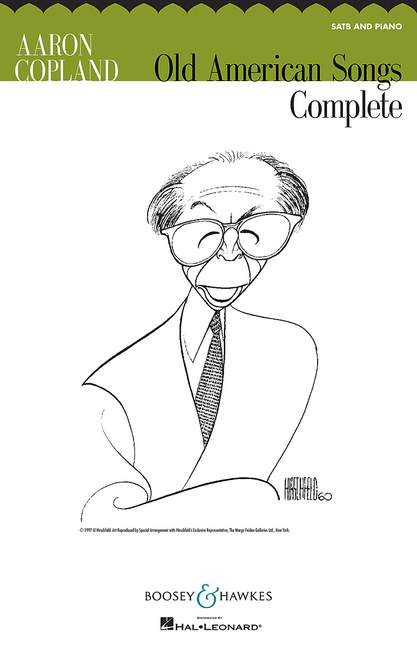 Aaron Copland: Old American Songs: SATB: Vocal Score