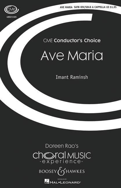 Imant Raminsh: Ave Maria: Double Choir: Vocal Score