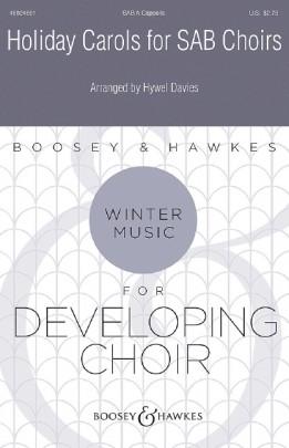Holiday Carols for SAB Choirs: Mixed Choir: Vocal Score