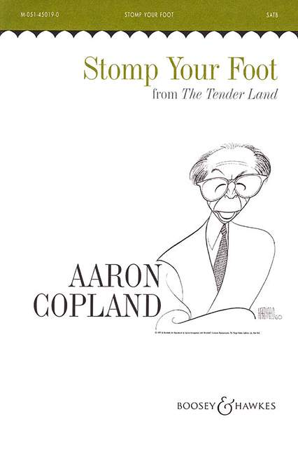 Aaron Copland: Stomp Your Foot (Mixed Voices And Piano Duet): SATB: Vocal Score
