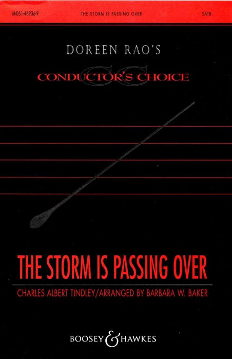 Charles A. Tindley: The storm is passing over: SATB: Vocal Score