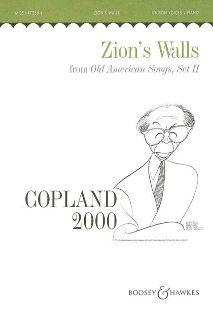 Aaron Copland: Old American Songs II: Unison Voices