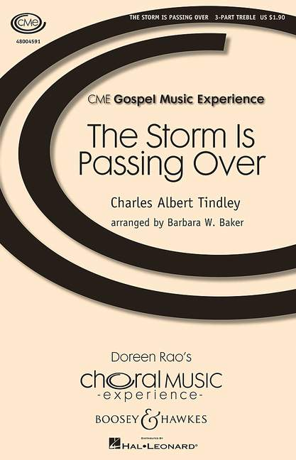 Charles Baker Tindley: Storm is passing over: SSA: Vocal Score