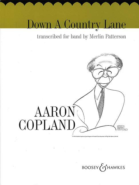 Aaron Copland: Down a Country Lane: Concert Band