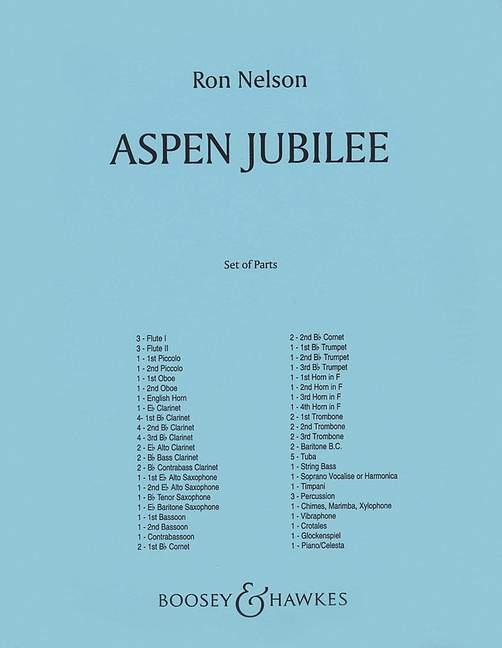 Ron Nelson: Aspen Jubilee: Concert Band
