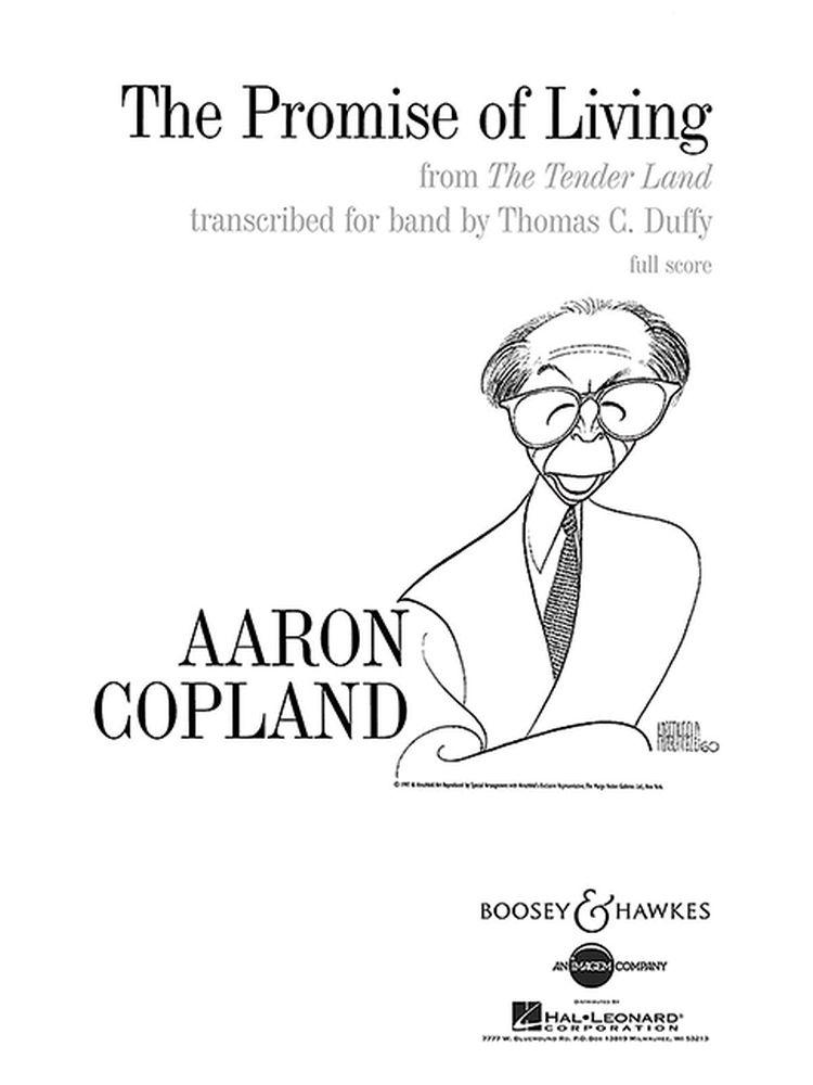 Aaron Copland: The Promise of Living: Concert Band