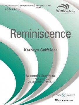 Kathryn Salfelder: Reminiscence: Concert Band: Score
