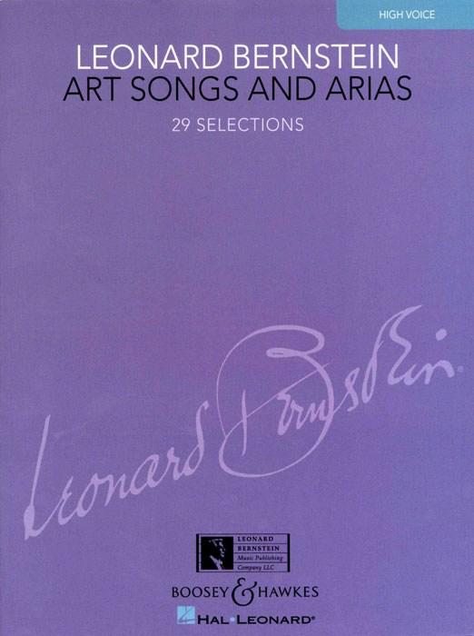 Leonard Bernstein: Art Songs And Arias: High Voice: Vocal Album