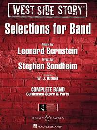 Leonard Bernstein: West Side Story Selections for symphonic band: Concert Band: