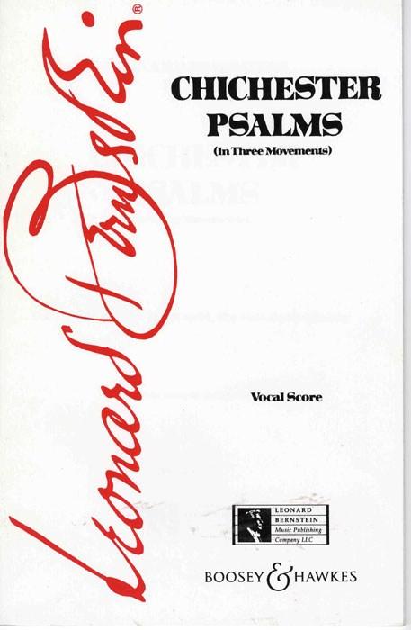 Leonard Bernstein: Chichester Psalms: SATB: Vocal Score