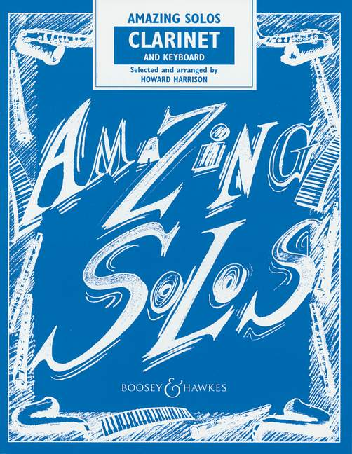 Harrison: Amazing Solos: Clarinet: Instrumental Album
