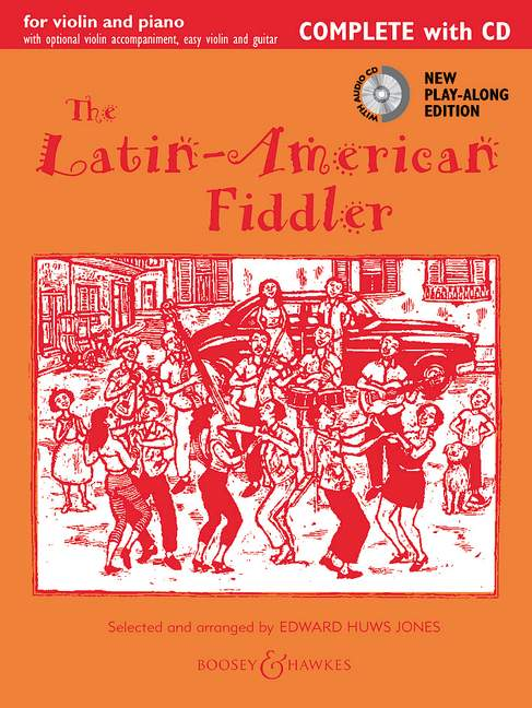 Jones: Latin American Fiddler: Violin: Instrumental Album