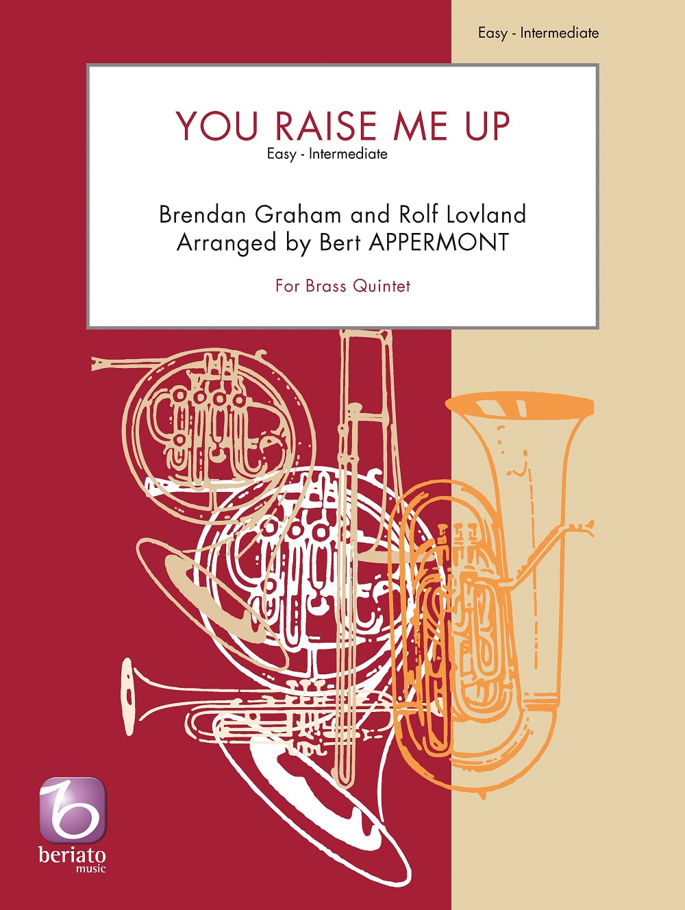 Brendan Graham Rolf Lovland: You Raise Me Up: Brass Ensemble: Score and Parts